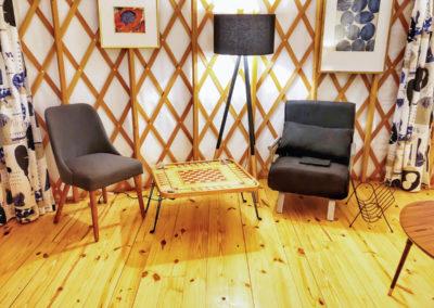 30' Yurt Cozy Family Room 2