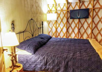 30' Yurt King Size Bed
