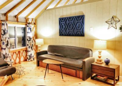 30' Yurt Cozy Family Room